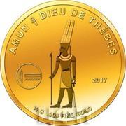 100 Francs CFA (Amun) – reverse
