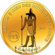 100 Francs CFA (Anubis) – reverse