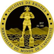 100 Francs CFA (Colossus of Rhodes) – reverse