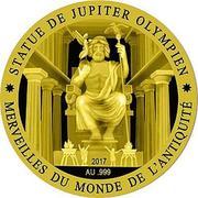 100 Francs CFA (Olympian Statue of Jupiter) – reverse
