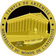 100 Francs CFA (Temple of Artemis) -  reverse