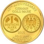 100 Francs CFA (German Gold Mark) – reverse
