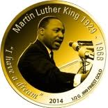 100 Francs CFA (Martin Luther King) – reverse