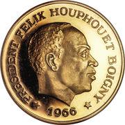 100 Francs CFA (Félix Houphouët-Boigny) – obverse