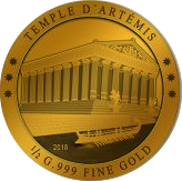 100 Francs CFA (Temple of Artemis) – reverse