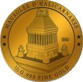 100 Francs CFA (Mausoleum of Halicarnassus) – reverse
