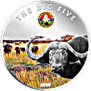 100 Francs CFA (Buffalo) – reverse