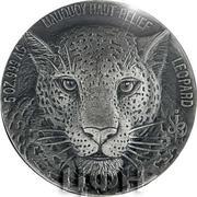 5000 Francs CFA (Leopard) – reverse