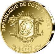 100 Francs CFA (Temple of Heaven) – obverse