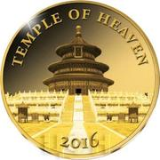 100 Francs CFA (Temple of Heaven) – reverse