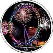 2000 Francs CFA (London Eye) – reverse