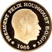 50 Francs CFA (Félix Houphouët-Boigny) – obverse