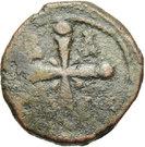 Follis - Baudouin II (Christ halo) – reverse