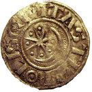 Tripoli Raymond II-III Denier à l'étoile et au Croissant – reverse