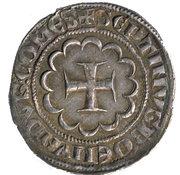 Demi-Gros - Bohemond VII – reverse