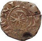 Tripoli Raymond III Pougeoise à l'étoile et au Croissant – obverse