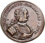 1 Grossus - Ernst Johann von Biron (Mitau) – obverse