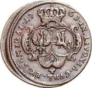 1 Grossus - Ernst Johann Biron (Mitau) – reverse
