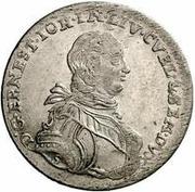 6 Grossus - Ernst Johann von Biron (Mitau) – obverse