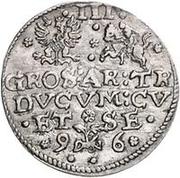 3 Grossus - Friedrich Kettler (Mitau) – reverse