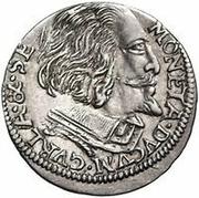 3 Grossus - Wilhelm Kettler (Mitau; with shield) – obverse