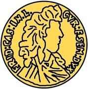1 Dukat - Friedrich Casimir Kettler (Mitau) – obverse