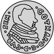 3 Grossus - Gotthard Kettler (Mitau) – obverse
