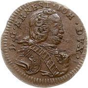 1 Solidus - Ernst Johann von Biron (Mitau) – obverse