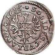 1 Solidus - Friedrich Casimir Kettler (Mitau) – reverse