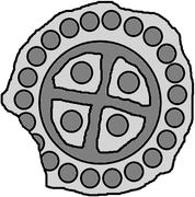 1 Hohlpfennig - Anonymous (Piltene) – reverse