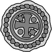 1 Hohlpfennig (Memel) – reverse