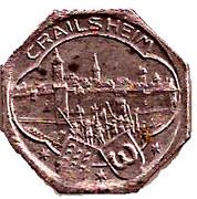 5 Pfennig - Crailsheim – obverse