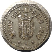 10 Pfennig - Crailsheim – obverse