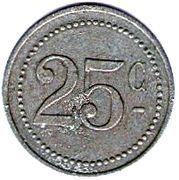 25 Centimes (Crecy en Brie) – reverse