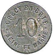 10 Centimes (Crecy en Brie) – obverse