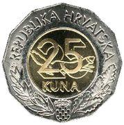 25 Kuna (Expo Lisbon) -  reverse