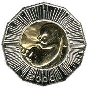 25 Kuna (Human Fetus) -  obverse