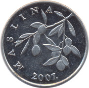 20 Lipa (Croatian text) -  obverse