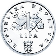 1 Lipa (Latin text) -  reverse