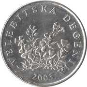 50 Lipa (Croatian text) -  obverse