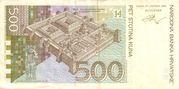 500 Kuna – reverse