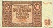50 Kuna – obverse