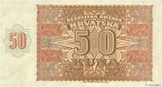 50 Kuna – reverse