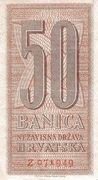 50 Banica – obverse
