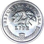 2 Lipe (Croatian text) – reverse