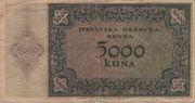5000 Kuna – reverse