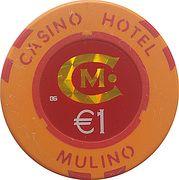 1 Euro - Casino Hotel Mulino (Buje) – obverse