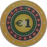 1 Euro - Casino Hit Kristal (Umag) – reverse