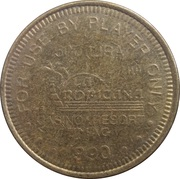 500 Lira - Casino La Tropicana (Umag) – reverse