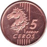 5 Europ Ceros -  obverse